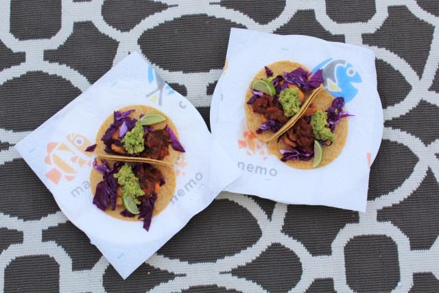Vegetarian Fish tacos
