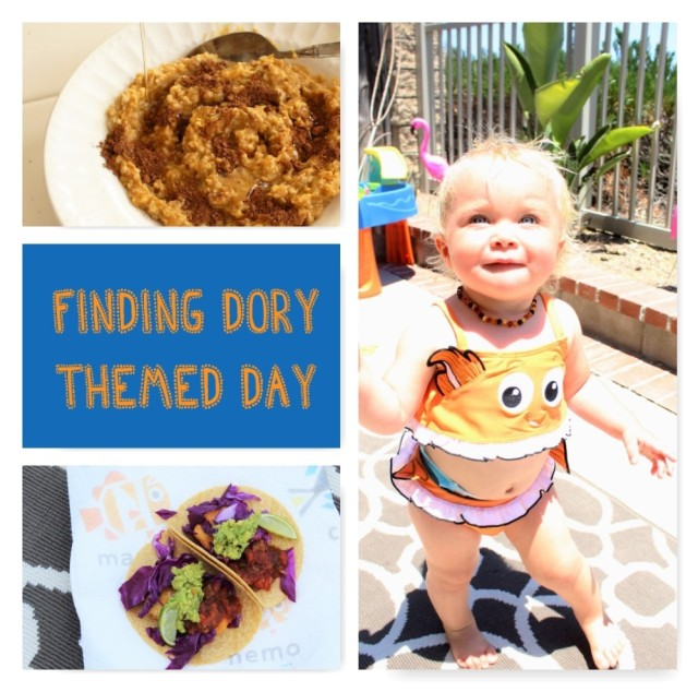 Finding Dory Activities and Recipes