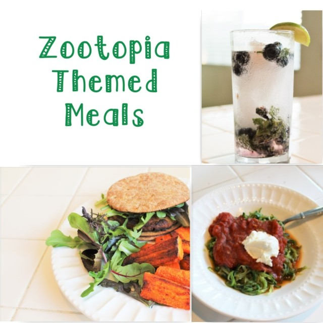 Zootopia Themed Meals